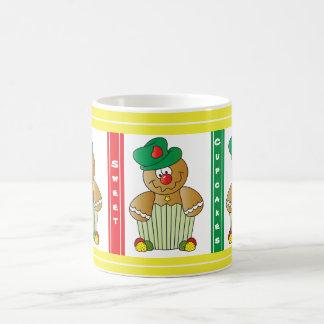 Sweet Gingerbread Cupcakes Classic White Coffee Mug