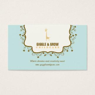 Sweet Giraffe Childcare /Boutique Business Card