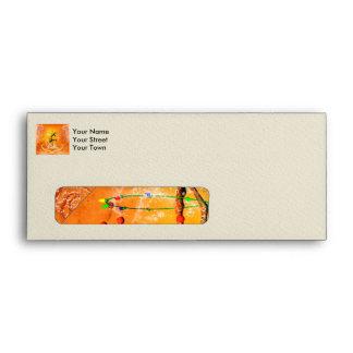 Sweet giraffe envelope