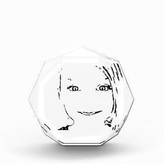 Sweet Girl, Black  White Portrait, Bright Eyes Award