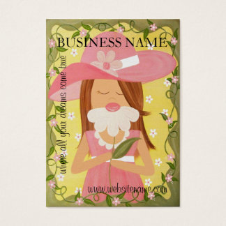 Sweet Girl - Hang Tags & Business Cards - Yellow