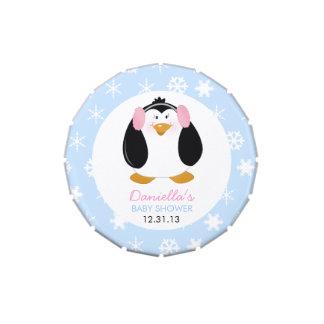 Sweet Girl Penguin Custom Mint Tin