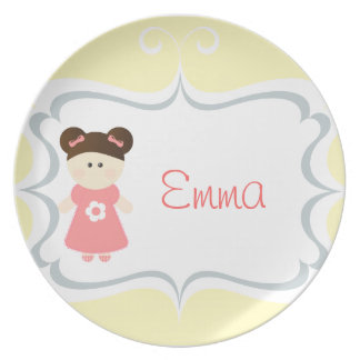 Sweet Girl - Personalized Plate