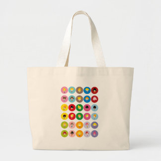 Sweet Girls All Large Tote Bag