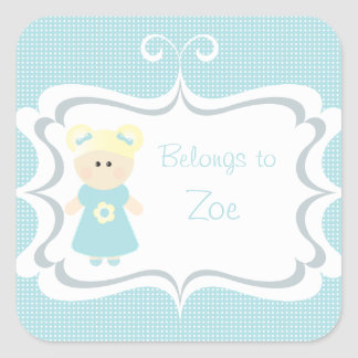 Sweet Girly - Personalized Stickers