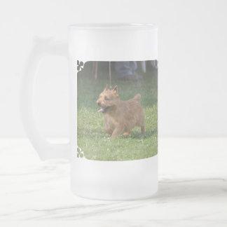 Sweet Glen of Imaal Terrier Glass Beer Mugs