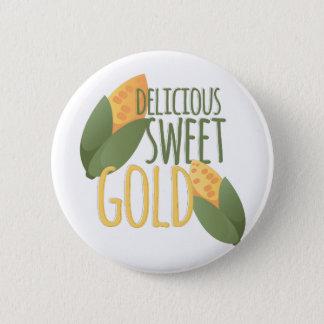 Sweet Gold Pinback Button