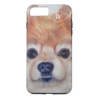 SWEET GOLDEN POMERANIAN iPhone 8 PLUS/7 PLUS CASE