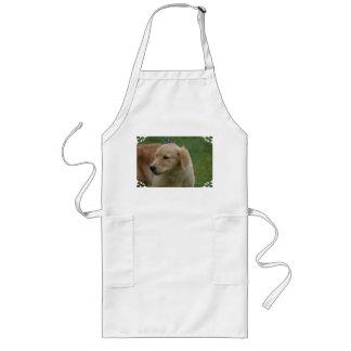 Sweet Golden Puppy Aprons