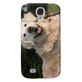 Sweet Golden Retriever iPhone 3G Case Samsung Galaxy S4 Cases