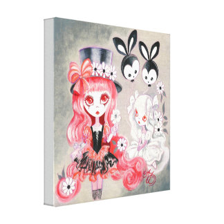 Sweet Gothic Party Canvas Print