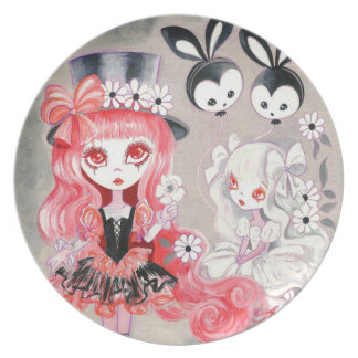 Sweet Gothic Party Melamine Plate
