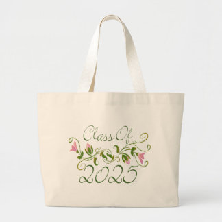 Sweet Graduation Class Of 2025 Large Tote Bag