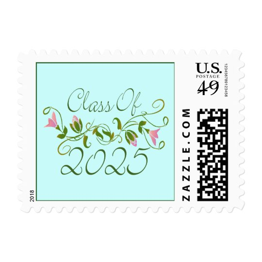 Sweet Graduation Class Of 2025 Postage