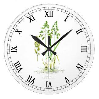 Sweet Grass Botanical Clocks
