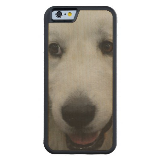 Sweet Great Pyrenees Carved® Maple iPhone 6 Bumper