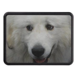 Sweet Great Pyrenees Trailer Hitch Covers