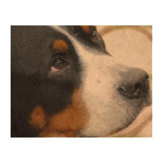 Sweet Greater Swiss Mountain Dog Cork Paper Prints
