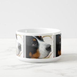 Sweet Greater Swiss Mountain Dog Chili Bowl