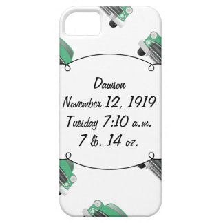 Sweet Green Retro Car Baby Boy Gifts iPhone 5 Cases