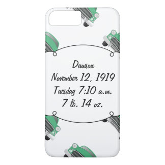 Sweet Green Retro Car Baby Boy Gifts iPhone 8 Plus/7 Plus Case