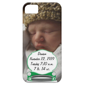 Sweet Green Retro Car Baby Shower Gifts iPhone 5 Case