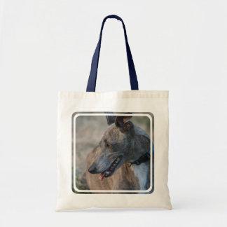 Sweet Greyhound Budget Tote Bag