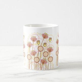 Sweet Groovy Blooms! Classic White Coffee Mug