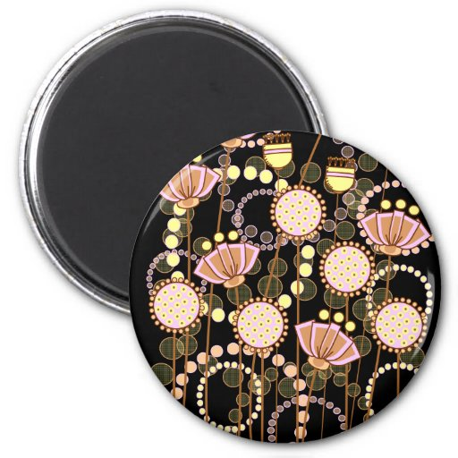 Sweet Groovy Blooms Magnets
