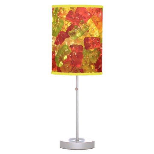 Sweet Gummy Bears Table Lamps Zazzle