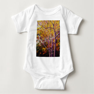 Sweet Gums at Sunset Painting Baby Bodysuit