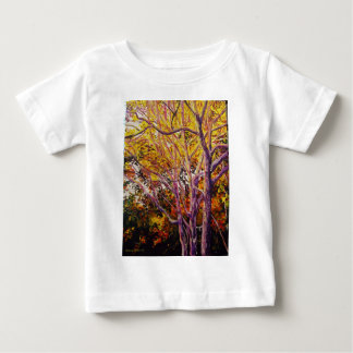 Sweet Gums at Sunset Painting Baby T-Shirt