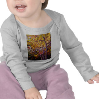 Sweet Gums at Sunset Painting T Shirt