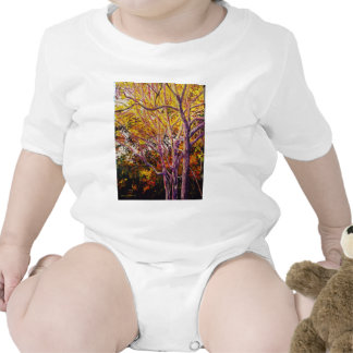 Sweet Gums at Sunset Painting Bodysuits