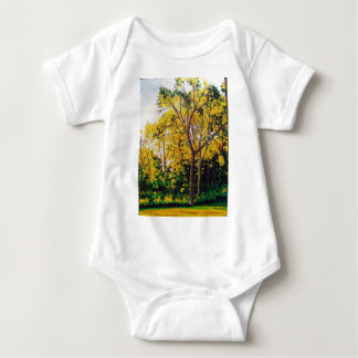 Sweet Gums Painting 302nd Baby Bodysuit