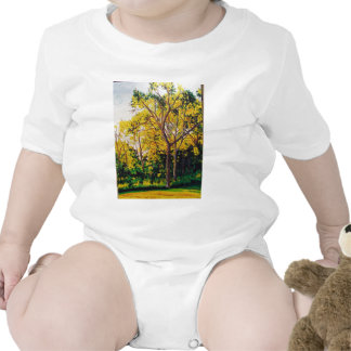 Sweet Gums Painting 302nd Rompers