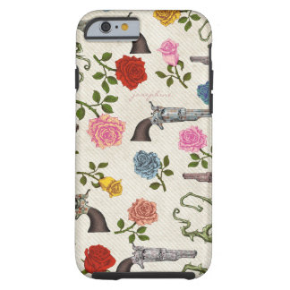 Sweet Guns and Roses iPhone 6 Case