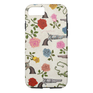 Sweet Guns and Roses iPhone 7 Case