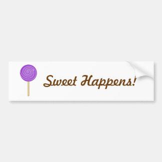Sweet Happens Bumper Stickers