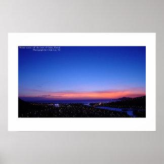 Sweet Hawaiian Sunset Poster