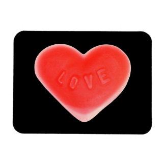 Sweet Heart Black premium magnet