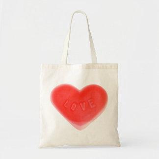 Sweet Heart budget tote bag