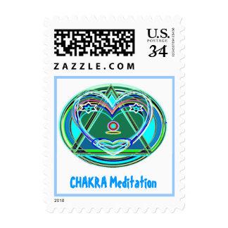 SWEET HEART : CHAKRA HEALAING MEDITATION STAMPS