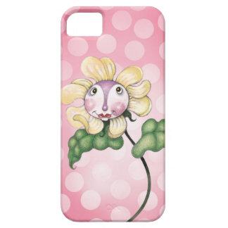 Sweet-heart Flower Face iPhone SE/5/5s Case