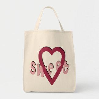 Sweet Heart - Grocery Tote Tote Bag