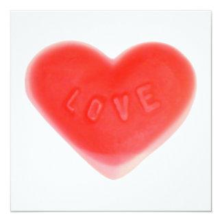 Sweet Heart invitation square