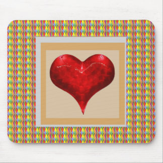 Sweet Heart - LOVE is in the air Mouse Pad