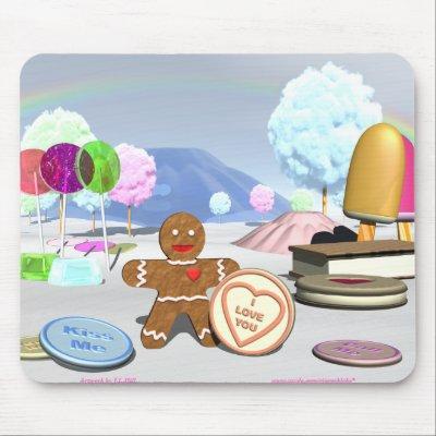 Sweet Heart Mouse Pad by Gingerbloke