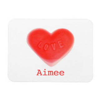 Sweet Heart 'Name' premium magnet Flexible Magnets
