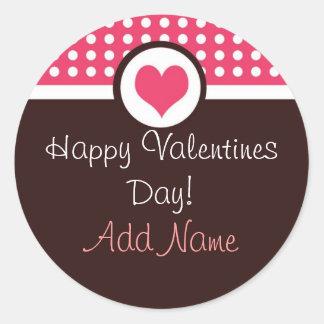 Sweet Heart Personalized Valentine's Day Sticker